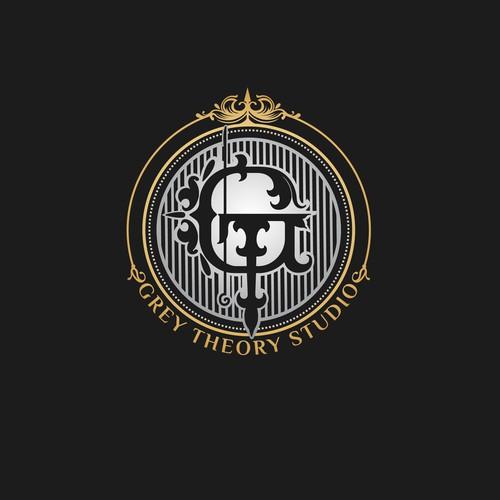 Gray Theory Tattoo studio logo concept