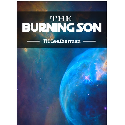 """book Cover """"The burning son"""""""