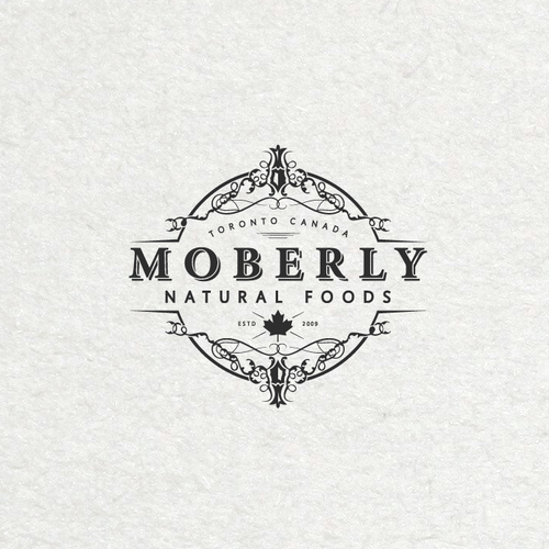 Vintage style logo for a shop