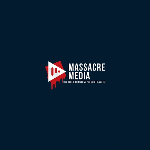 Logo Design For Massacre Media