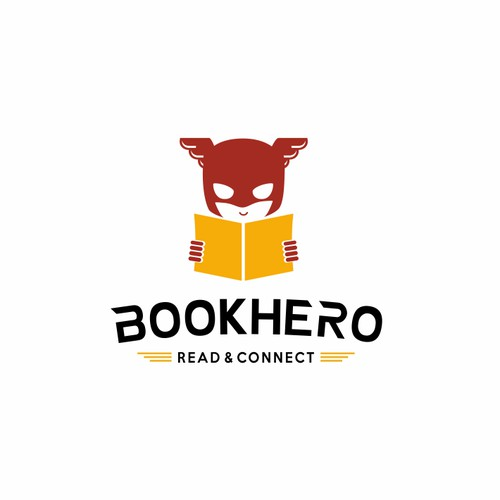 Logo design for international book sharing platform
