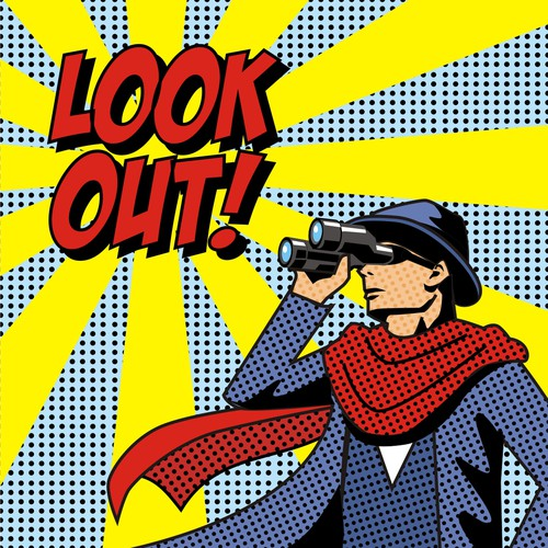 LOOK OUT ! Illustration