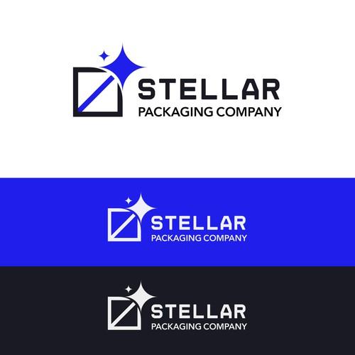 Stellar Logo concept 2 - Packaging company
