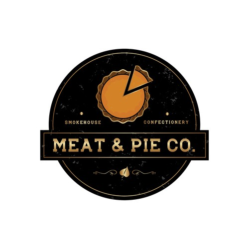 "Elegant Logo For ""Meat & Pie Co."""