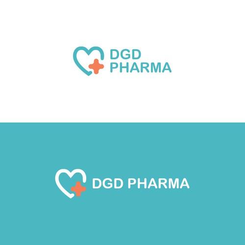 Logo Concept for DGD Pharma