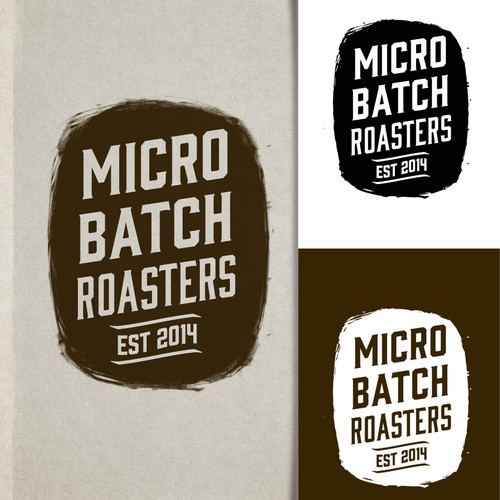 Logo design for MicroBatch Roasters or (mB Roasters)