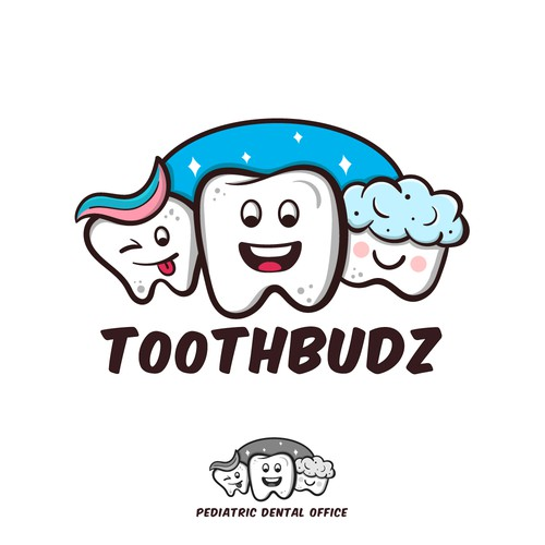 Pediatric Dental Office Logo