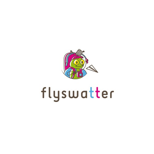 Funny Design Logo for Travel Agency