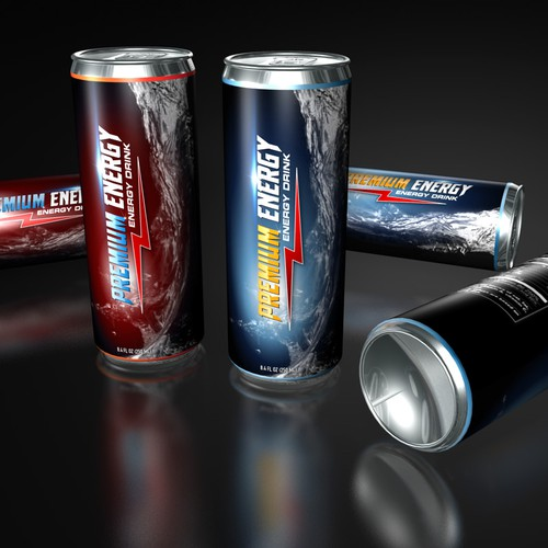 product label for Premium Energy