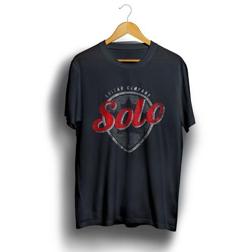 Solo Guitars T-Shirt Design
