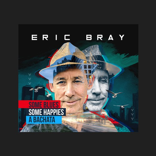 Album cover design for Eric Bray