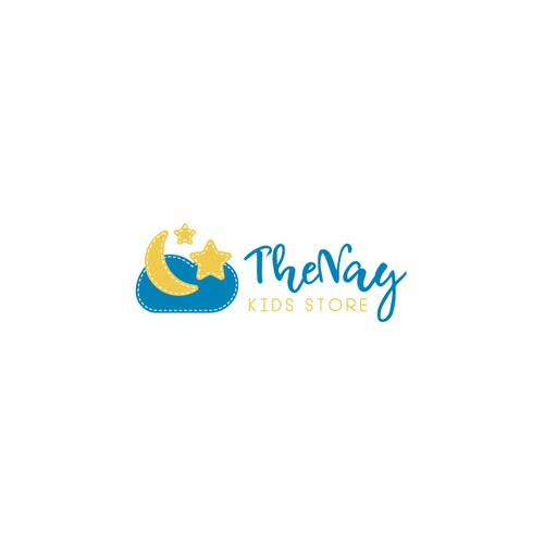 Cute logo for a kids clothing brand