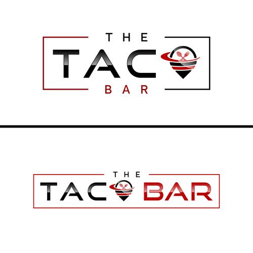 "Logo for ""THE TACO BAR"""