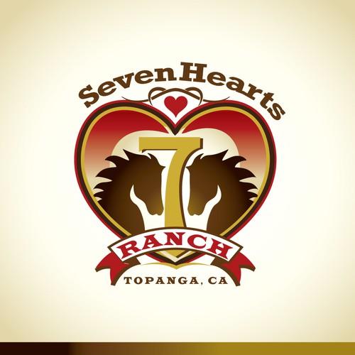 7 Hearts Ranch needs a new logo