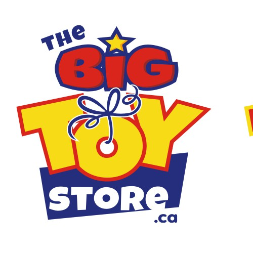 bold logo for a toy store