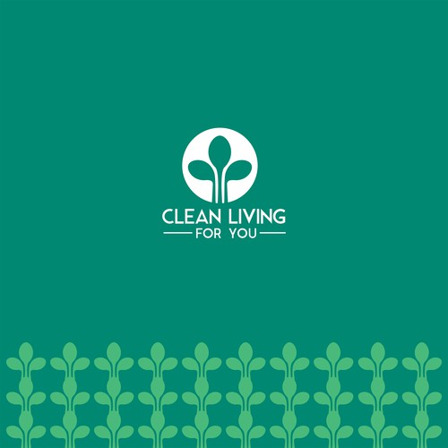 Brand identity for Clean Living for You