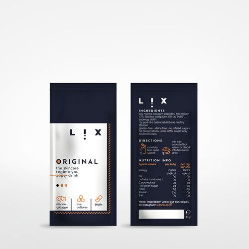 Packaging design for skincare regime