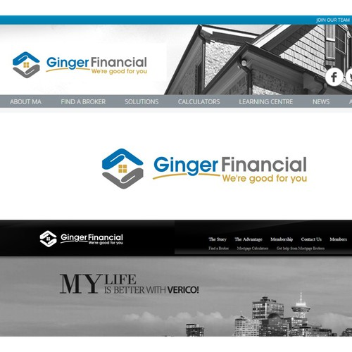 GingerFinancial logo