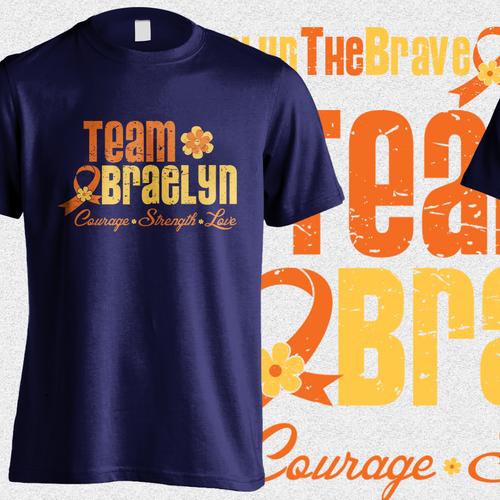 Child's Leukemia Fundraising Shirt
