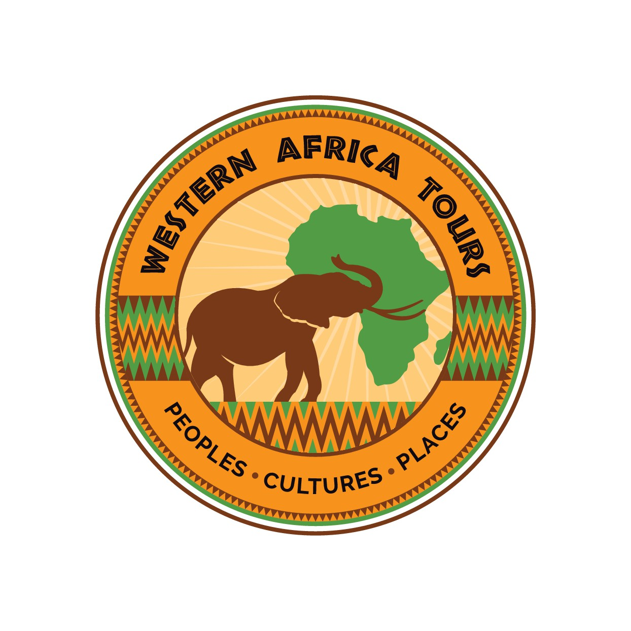 Design a logo for West African Tourism