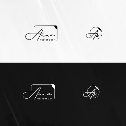 Elegant logo for Writer and Journalist