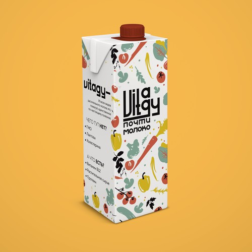 Milk logo or product packaging