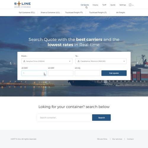 web site design ( sline.ma)