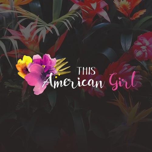 This American Girl logo design
