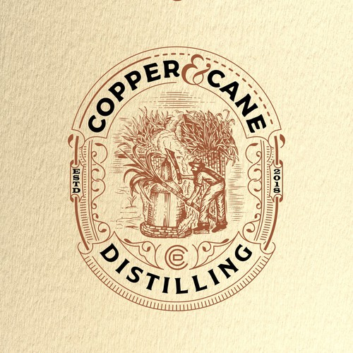 Logo design for an artisanal distillery