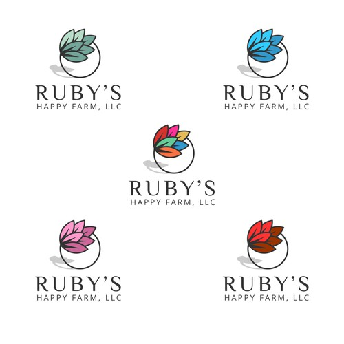 Rubi's Happy Farm Logo