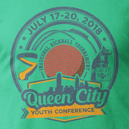 Design An Eye-catching Youth Conference T-shirt!
