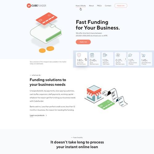 Financial Website Redesign