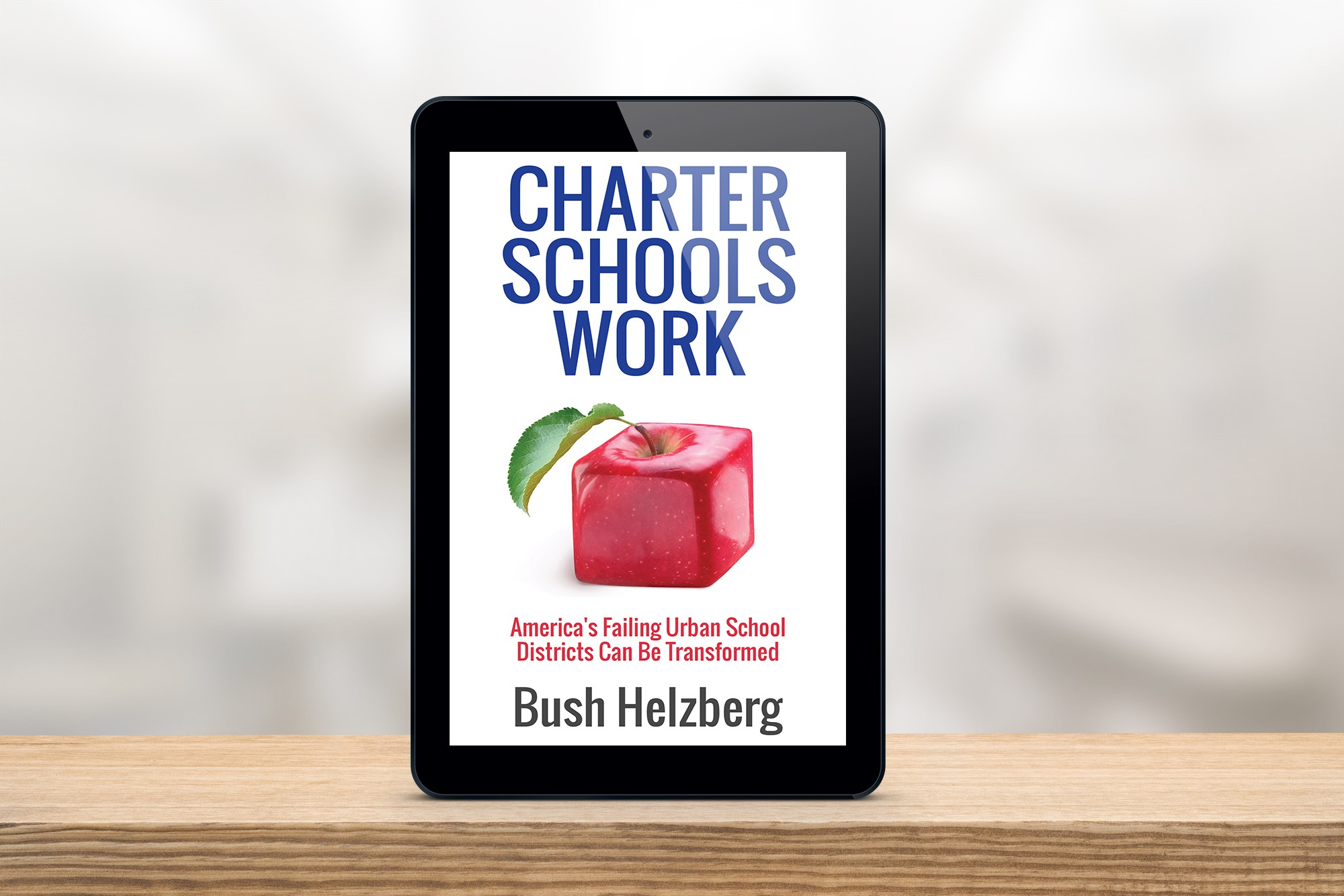 Book Cover for Charter Schools Work (a book about K-12 education)