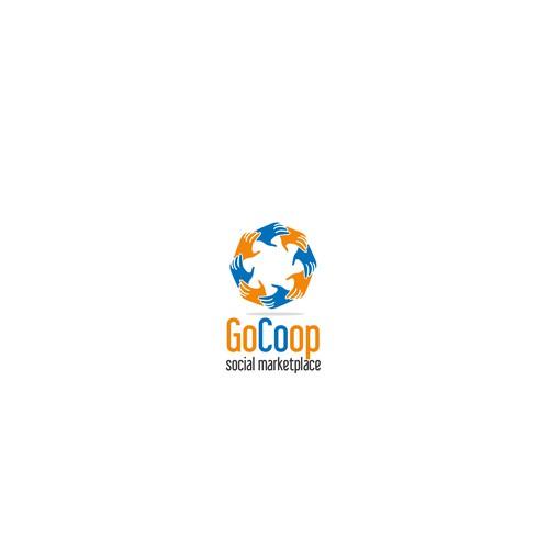 Logo concept for social marketplace