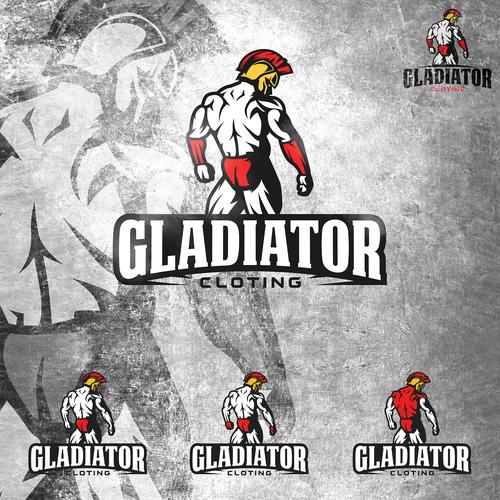 DE/ENG Gladiator als Logo für Modemarke (Fitness/Bodybuilding) DE/ENG