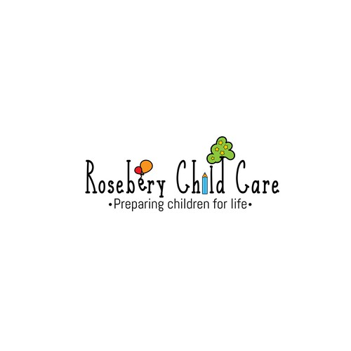 Design an Arty Logo for a Child Care Centre