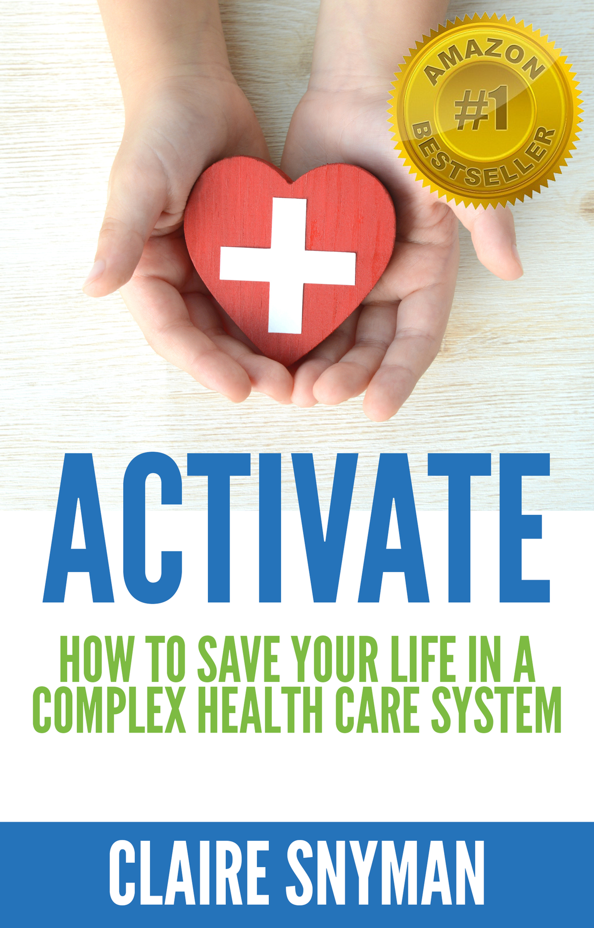 Add logo to existing ACTIVATE book cover