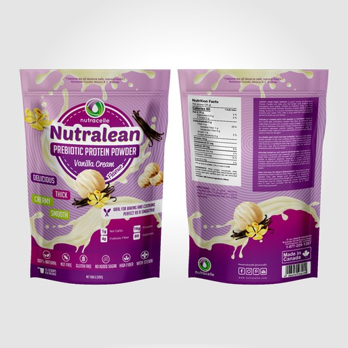 Nutralean, Prebiotic Protein Powder
