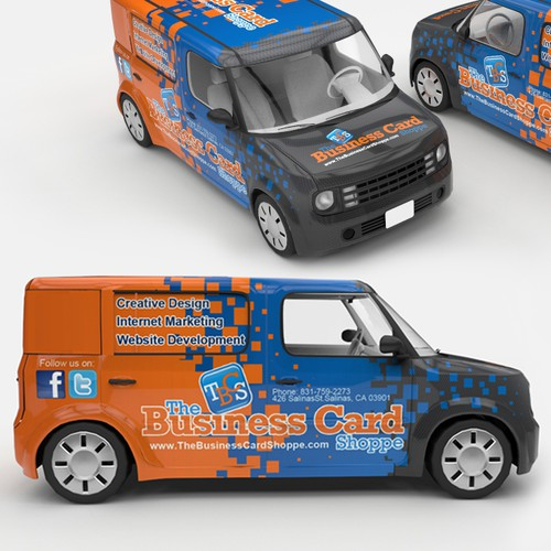Nissan Cube Car Wrap