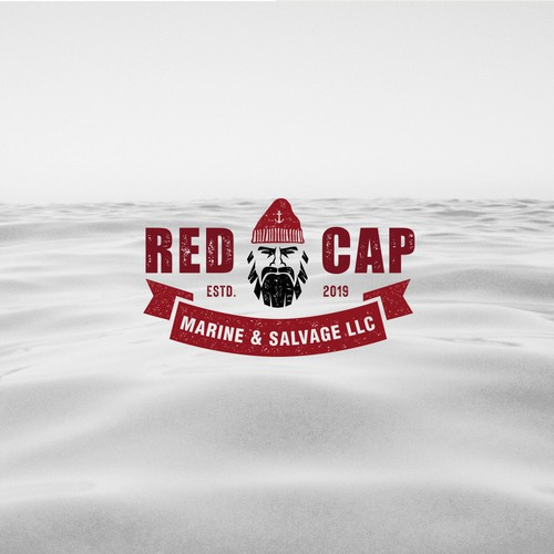 Logo design for a boat salvage company
