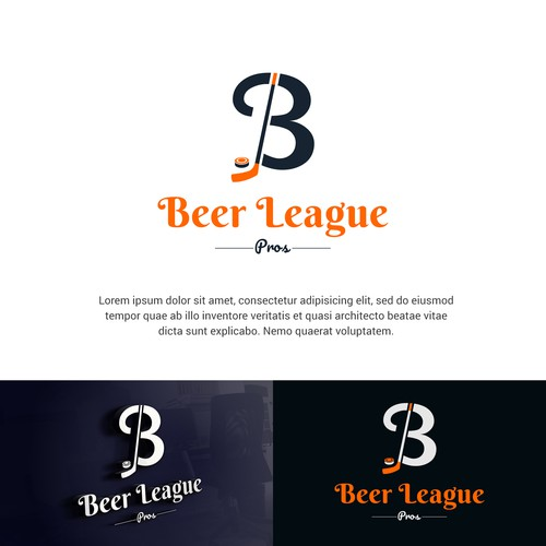 Iconic logo for Beer League Pros
