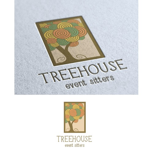 A new logo for Treehouse Event Sitters!