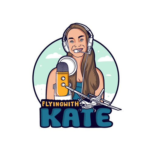 Flying with Kate