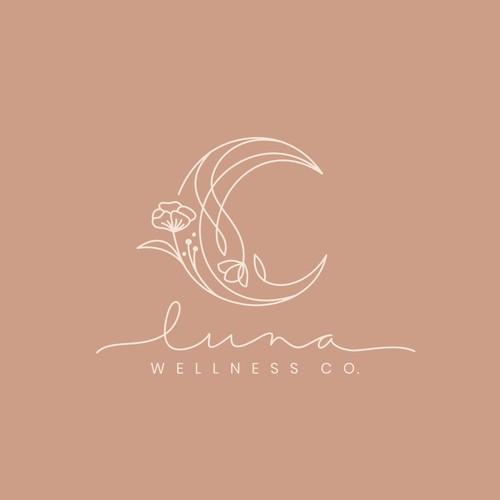 Luna wellness Co Logo