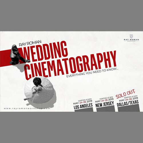 Workshop Poster for Wedding videographers