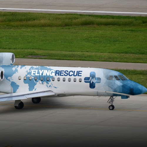 Cover aircraft fleet for worldwide medical rescue service