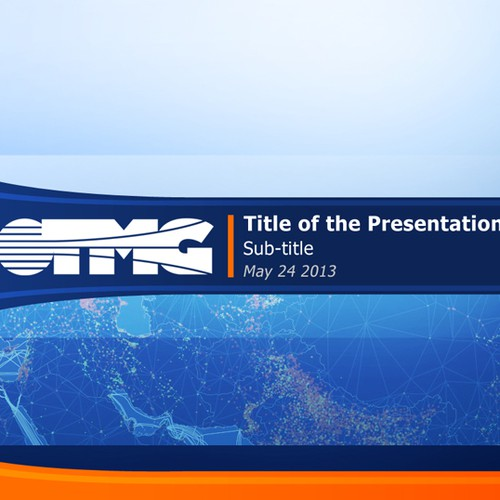 PowerPoint template/theme for TMG