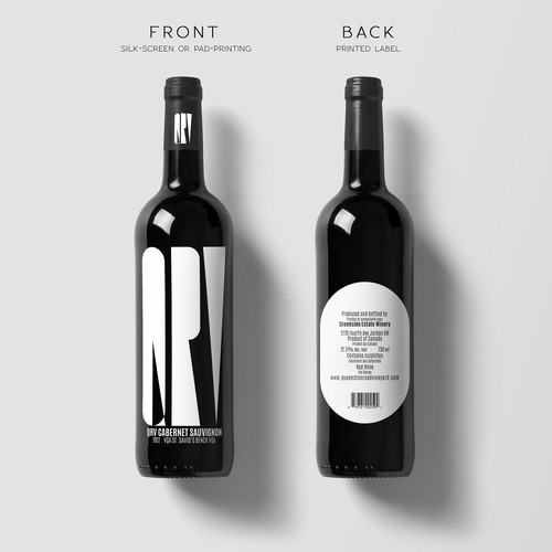 Un vino diferente.