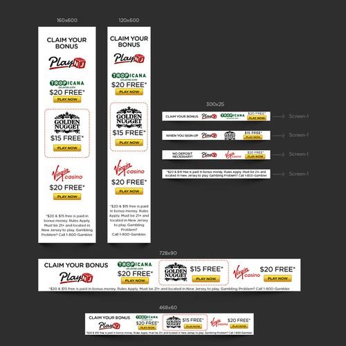 Casino Google AdWord Banners