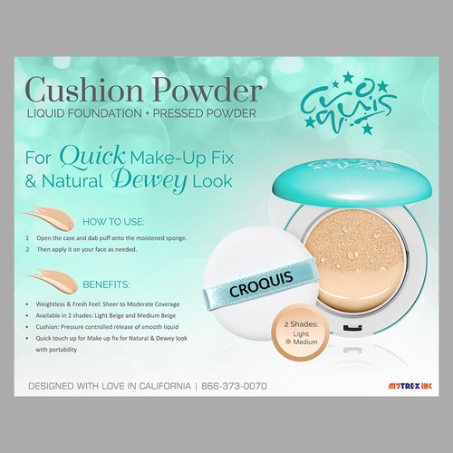 Croquis Cushion Powder